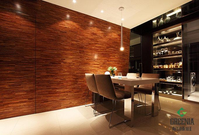 室内木纹设计图