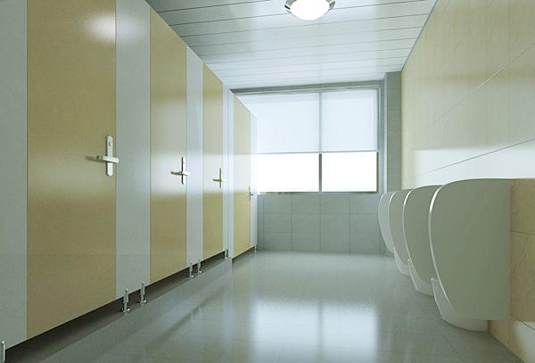 不管是公共卫生间还是家庭卫生间隔断装修,它都是一个使用频率较