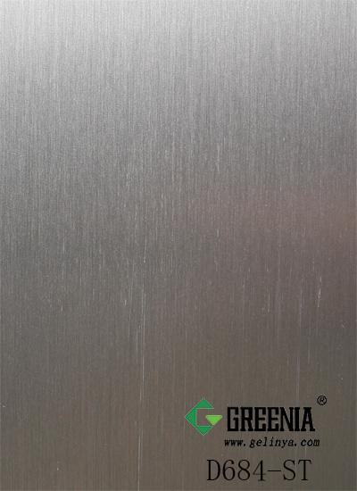 金属拉丝面防火板        D684-ST