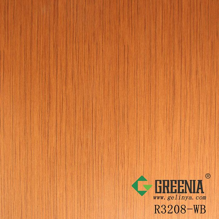 柚木真木皮防火板           R3208-WB