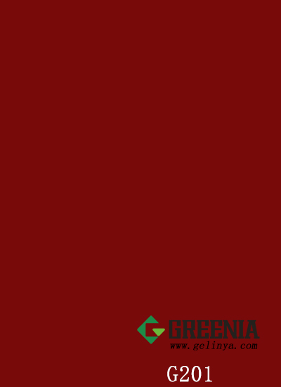素色枣红色防火板